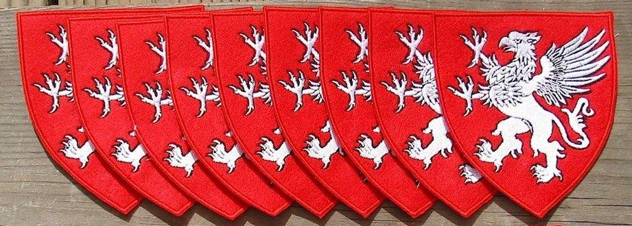Embroidered livery badge- Gryphon