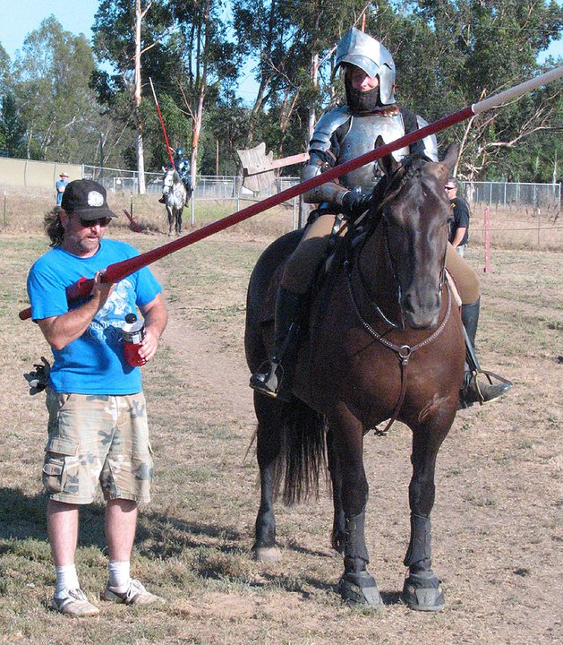 Knight School Joust Training - Private Instruction