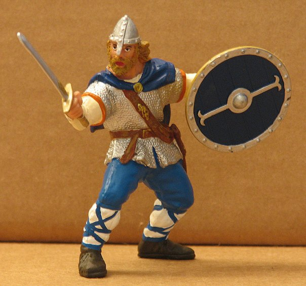 Viking Toy Figurine