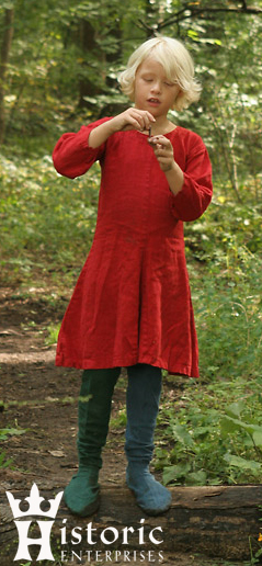 Tunic, Bocksten, Children's, Linen