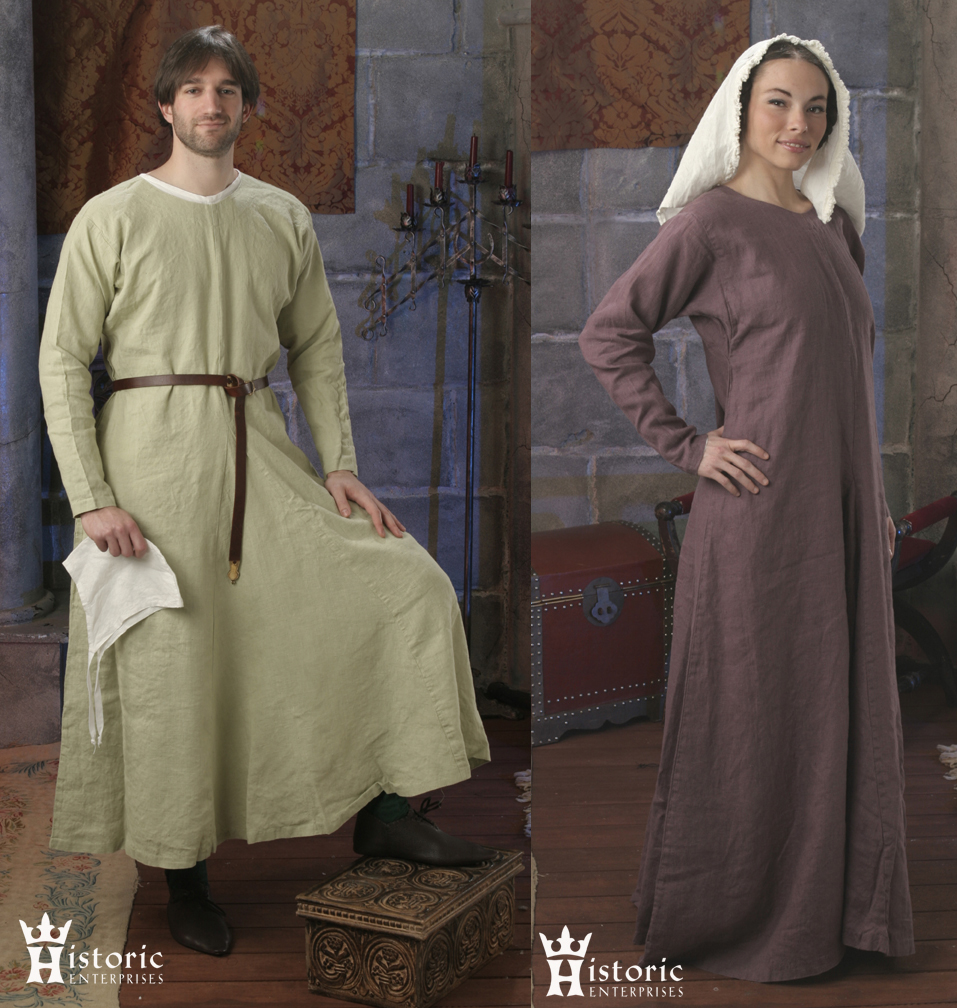 Gown, Early Medieval, 10th-13th C., Wool, MADE TO ORDER