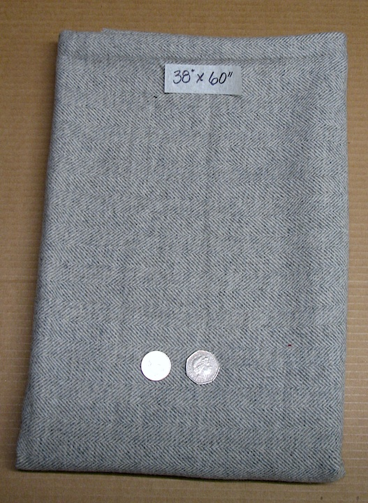 Wool remainder- Grey/natural