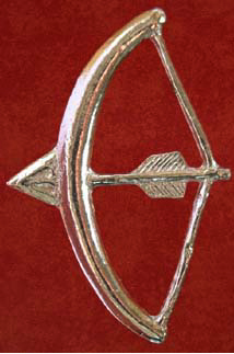 Badge, Secular, Longbow, 15th century