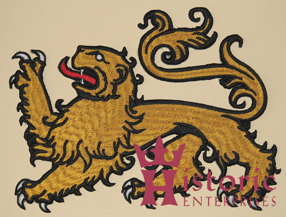 Badge, Livery, Lion Passant