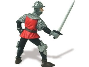 Footsoldier in red Toy Figurine