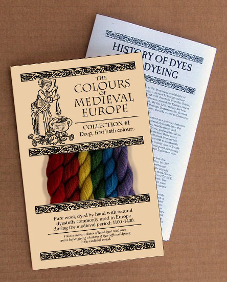 'The Colours of Medieval Europe'- Collection 1
