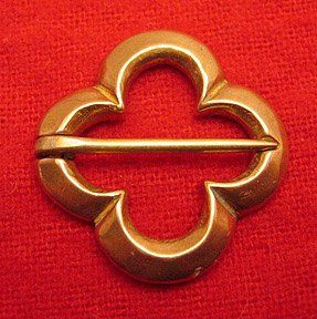 Brooch, Annular, Quatrefoil
