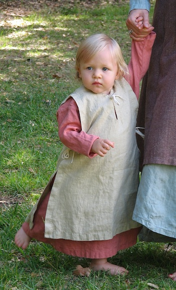 Surcoat, Children's, Linen
