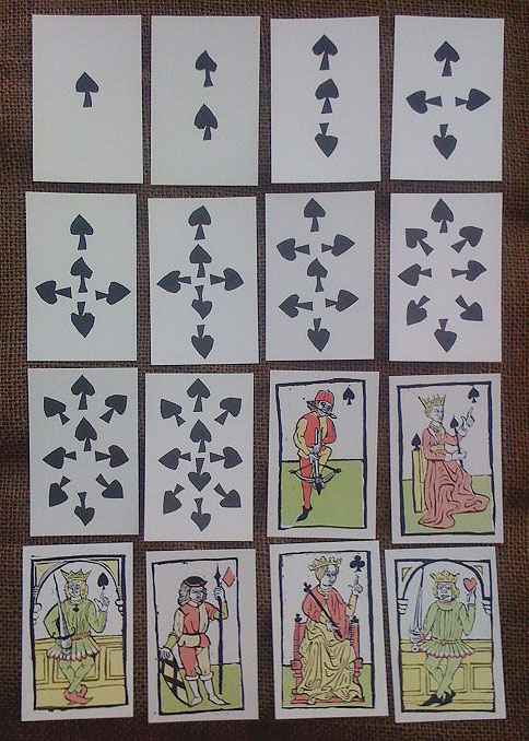 Playing cards, 15th century