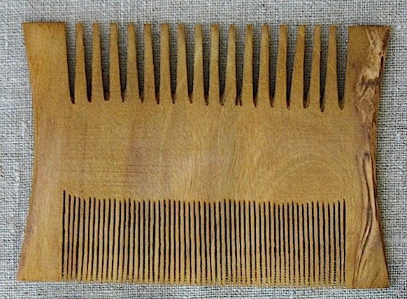 Comb, plain wooden