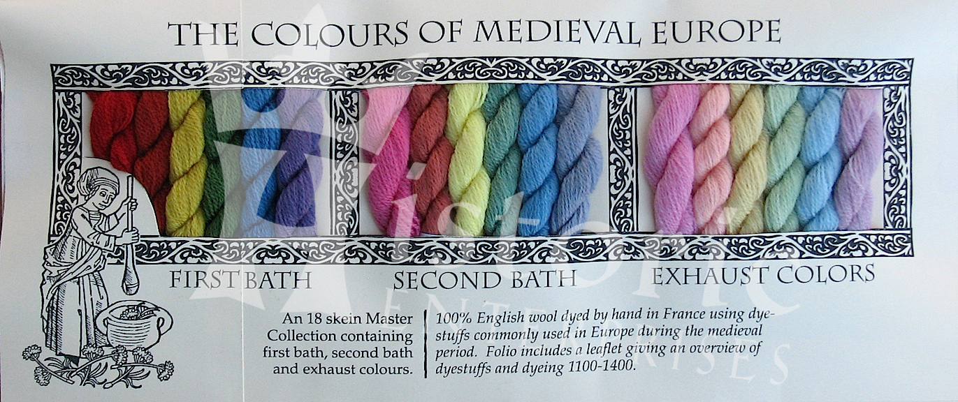 'The Colours of Medieval Europe'- Master Collection