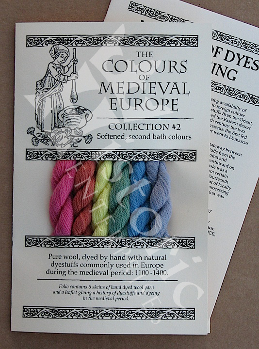 'The Colours of Medieval Europe'- Collection 2