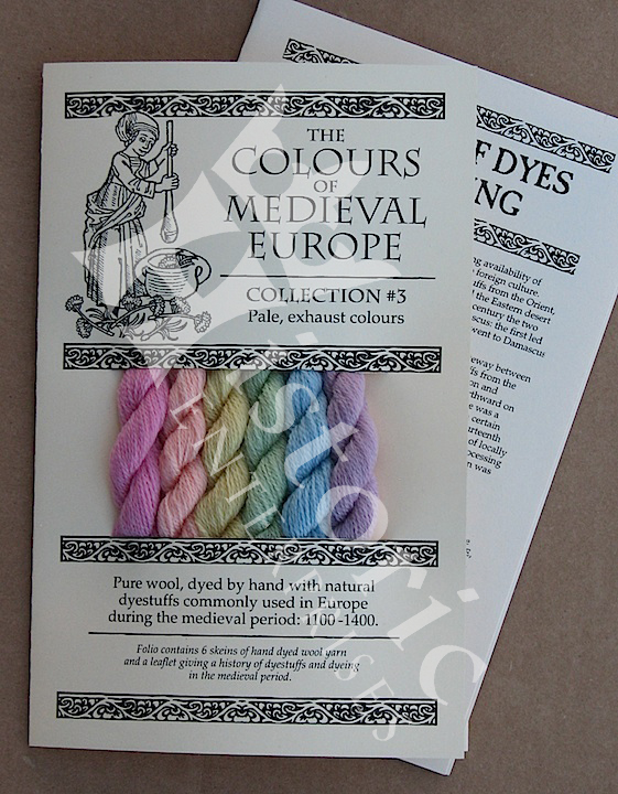 'The Colours of Medieval Europe'- Collection 3