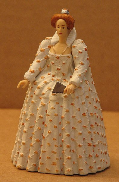 Queen Elizabeth Toy Figurine