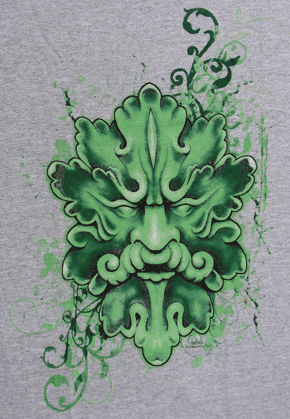 T-Shirt, Green Man