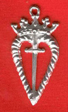 Charm, Pewter, Sword of Honour