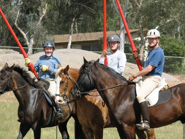 Knight School Joust Training - Group instruction