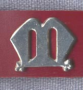 Mount, Pewter, ''M'', pkg of 3
