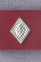 Mount, Pewter, ''Granulated Diamond'', pkg of 3