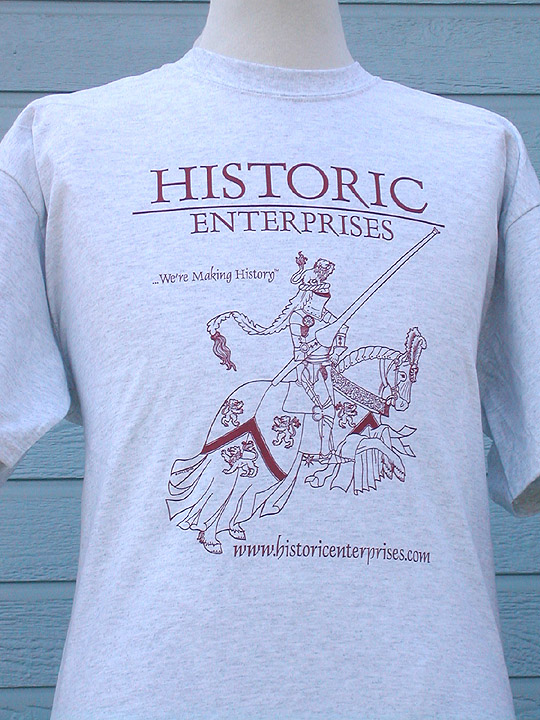 T-Shirt, Historic Enterprises