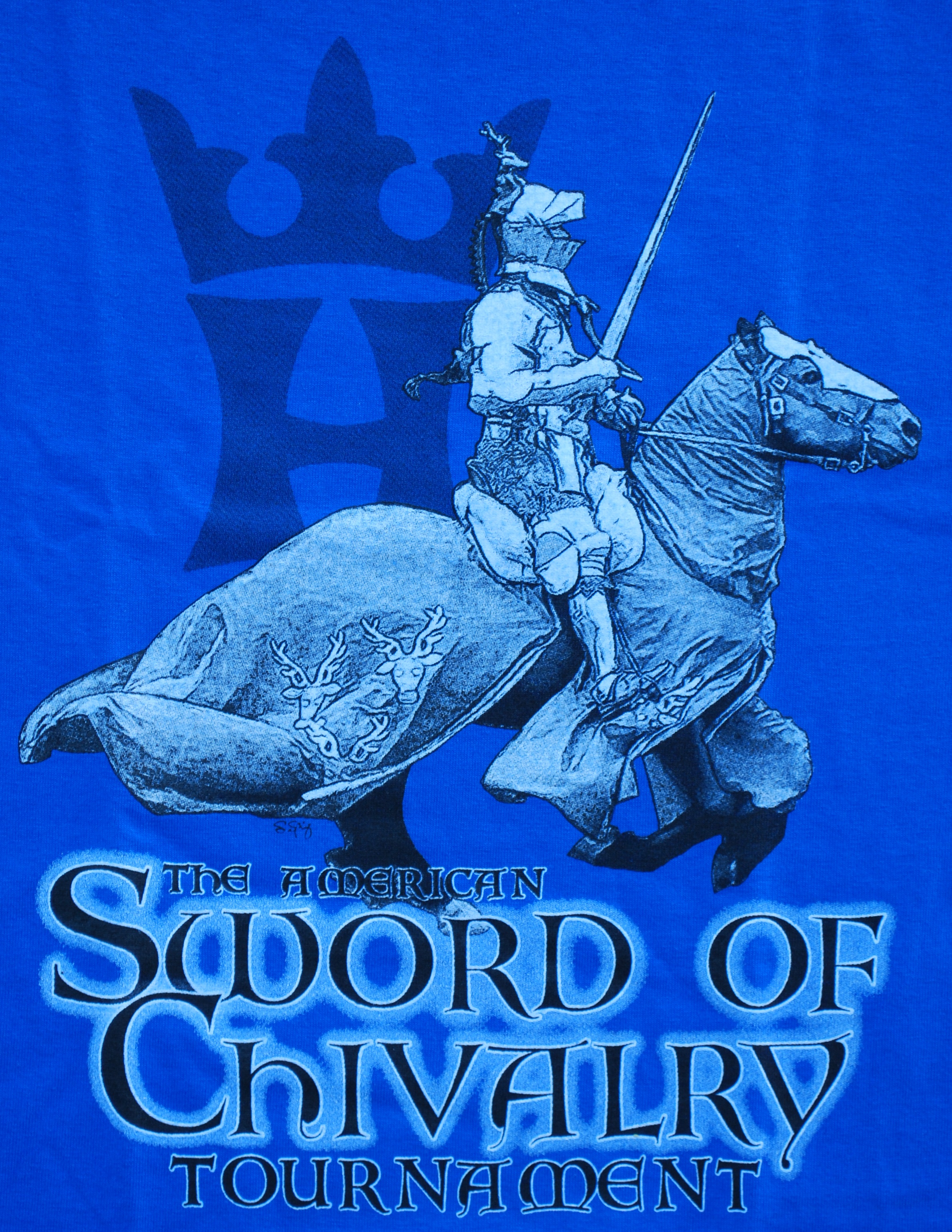T-Shirt, American Sword of Chivalry Tournament