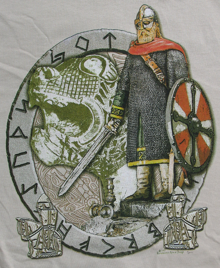 T-Shirt, Viking